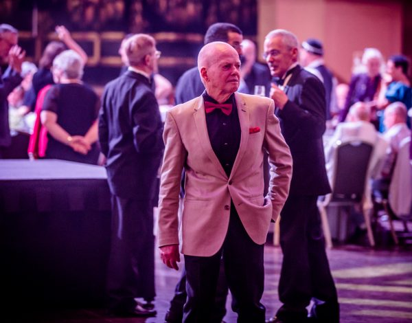 David Morrison at The Coming Back Out Ball. Image by Bryony Jackson.